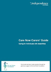 Care Now Carer's Guide