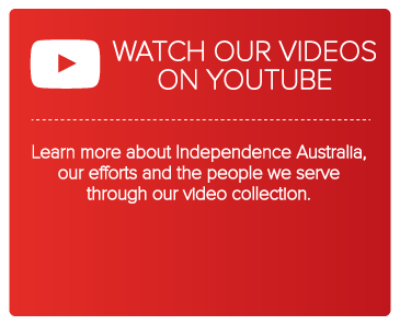 Spread the word about Independence Australia on YouTube